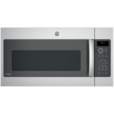 jcpenney.com | GE® Profile™ Series 2.1 cu. ft. Over-the-Range Sensor Microwave Oven