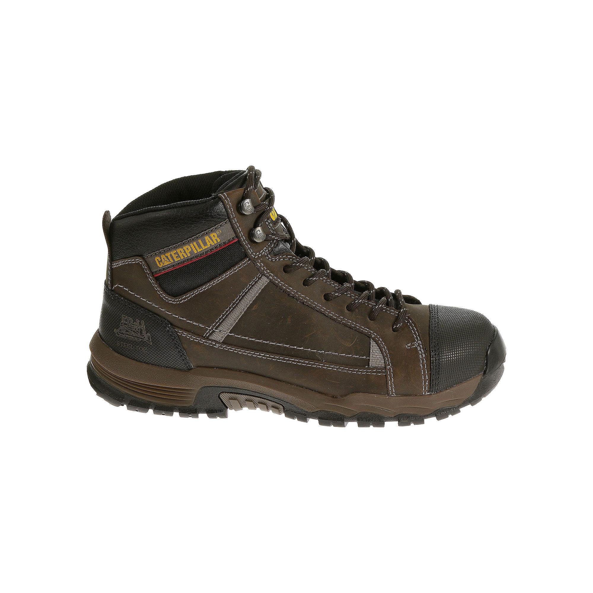 CAT Regulator EH Mens Steel-Toe Slip-Resistant Work Boots