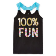Okie Dokie® Knot-Back Tank Top - Toddler Girls 2t-5t