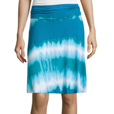 jcpenney.com | a.n.a® Folded Waistband Knit Skirt - Tall