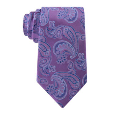 jcpenney.com | Stafford® Lakeside Paisley Silk Tie