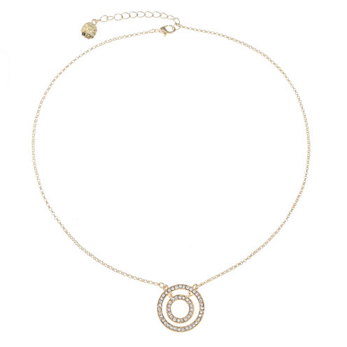 Monet Jewelry Clear Pendant