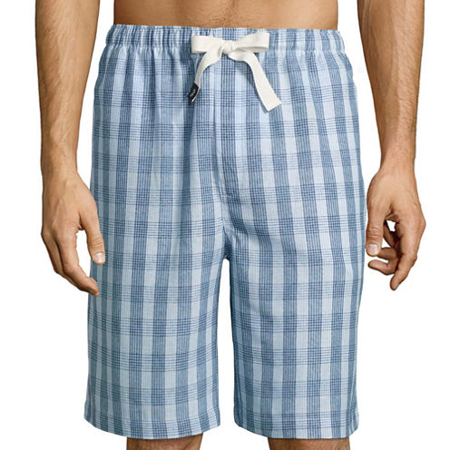 Izod Chambray Pajama Shorts