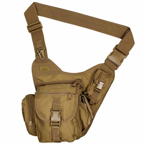 Red Rock Outdoor Gear Sidekick Sling Bag - Coyote
