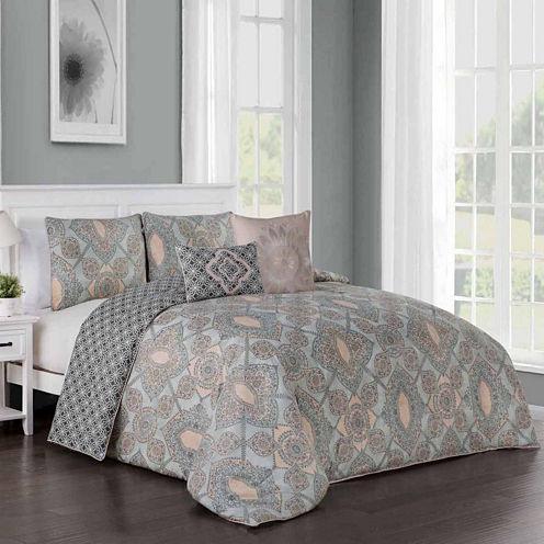 Avondale Manor Modena 5-pc. Comforter Set