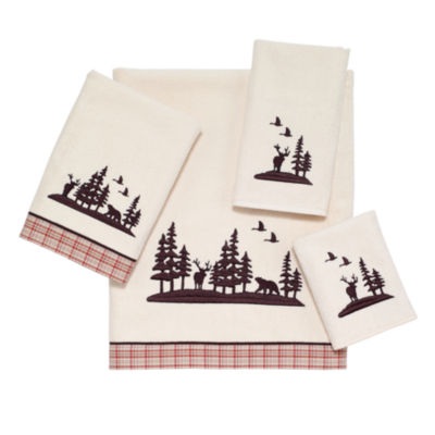 Avanti Hunter Plaid Bath Towel Collection