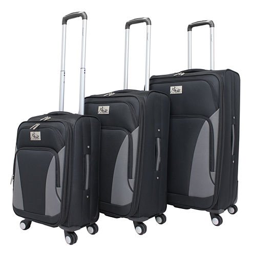 Chariot Travelware Prato 3-pc. Luggage Set