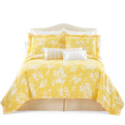 jcp EVERYDAY™ Summer Stroll Marigold Comforter Set & Accessories