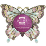Butterfly Beaded Picture Frame