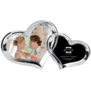 Two Hearts 2-Opening Collage Picture Frame