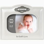 "Count Your Blessings Blessed 4x6"" Picture Frame"