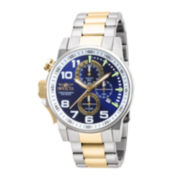 Invicta® Force Mens Two-Tone Stainless Steel Chronograph Watch