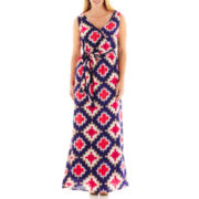 jcp™ Crossover Maxi Dress - Tall