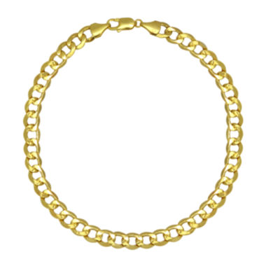 "jcpenney.com | 10K Yellow Gold 22"" Hollow Curb Chain"