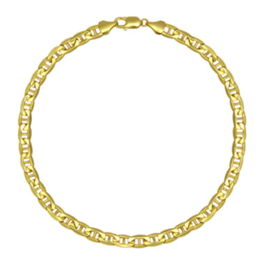 "jcpenney.com | 10K Yellow Gold 22"" Hollow Mariner Chain"