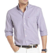 IZOD Long-Sleeve Tattersall Shirt