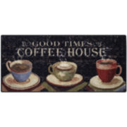 Evening Café Kitchen Rectangular Rug