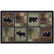 Wilderness Plaid Rectangular Rug