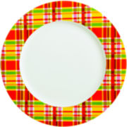 Oui by French Bull™ Plaid Round Serving Platter
