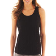 Worthington® Sleeveless Lace Top