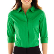 Worthington® 3/4-Sleeve Shirt