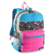 Mojo™ Pink & Turquoise Puff'd Backpack