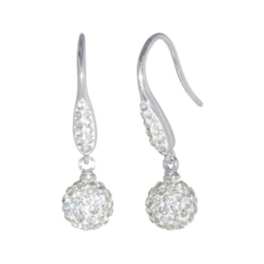 jcpenney.com | Crystal Ball Drop Earrings
