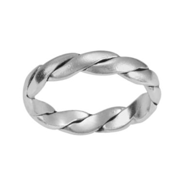 jcpenney.com | Silver-Plated Twist Band Ring