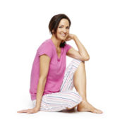 Liz Claiborne® Knit Sleep Tee or Capris