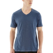 Michael Brandon® V-Neck Slub Tee
