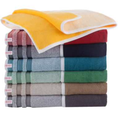 jcpenney.com | IZOD® Oxford Bath Towels