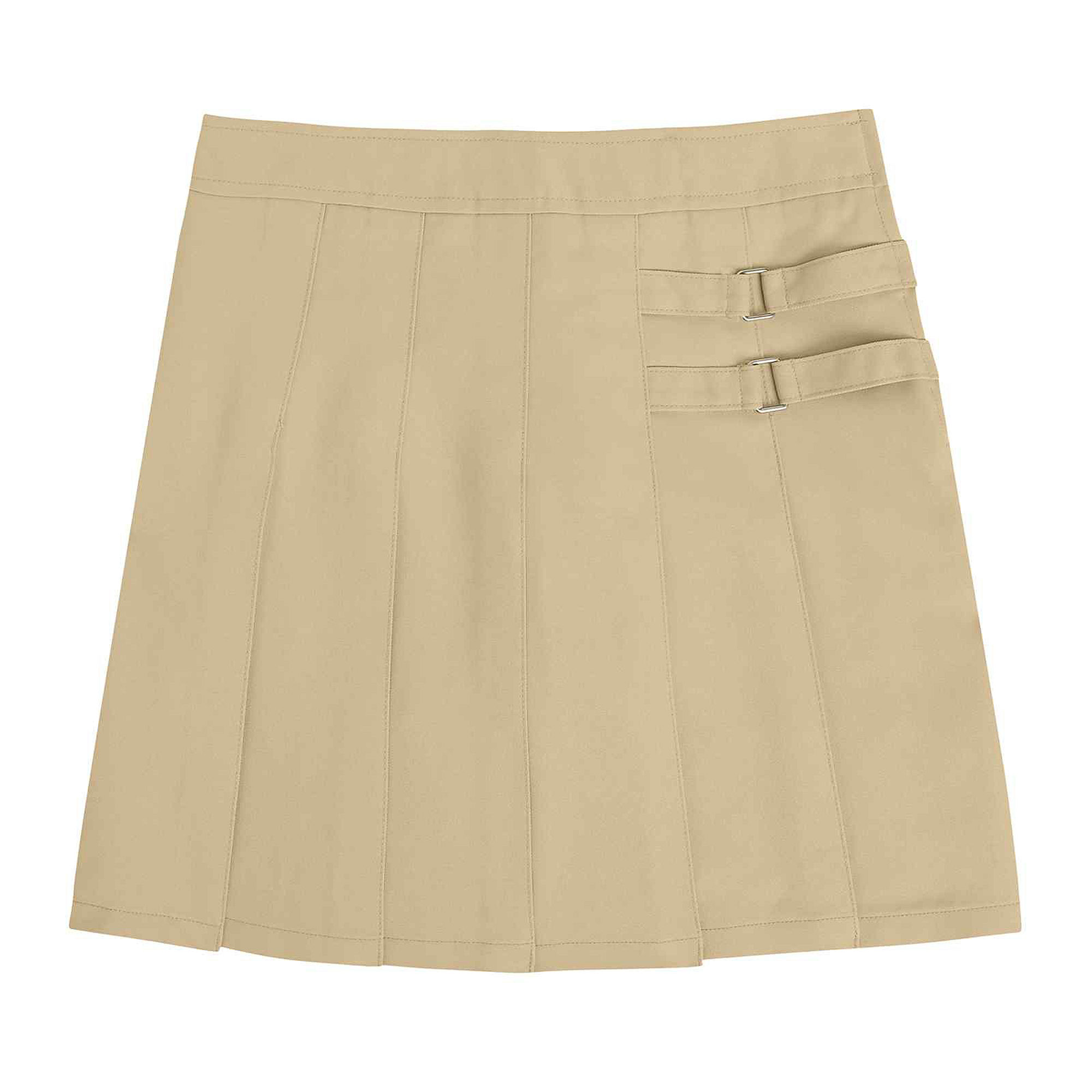 French Toast Two-Tab Scooter Skirt - Preschool Girls 4-6x plus size,  plus size fashion plus size appare
