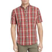 Arrow® Short-Sleeve Madras Plaid Shirt