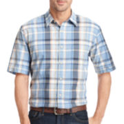 Arrow® Short-Sleeve Madras Plaid Shirt