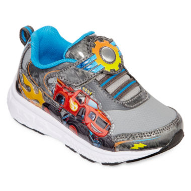 jcpenney.com | Nickelodeon™ Blaze Boys Athletic Light-Up Sneakers - Toddler