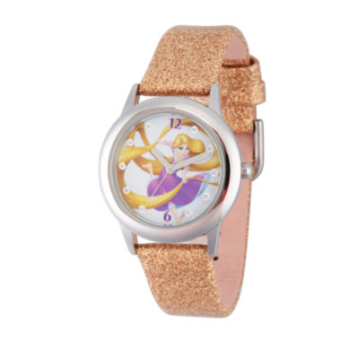 jcpenney.com | Disney Princess Girls Glitz Tangled Strap Watch W002964