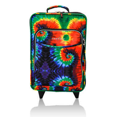 jcpenney.com | Obersee® Kids Tie-Dye Upright Roller Luggage with Integrated Cooler