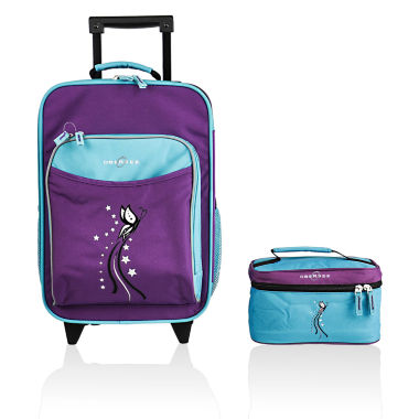 jcpenney.com | Obersee® Kids 2-pc. Butterfly Luggage & Toiletry Bag Set