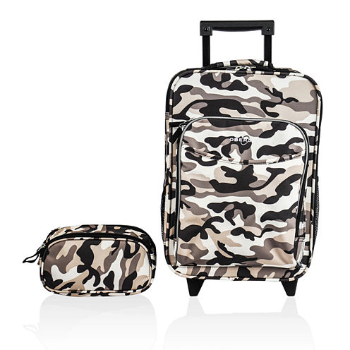 Obersee® Kids 2-pc. Camo Luggage & Toiletry Bag Set