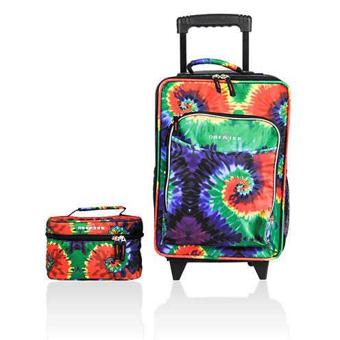 Obersee® Kids 2-pc. Tie-Dye Luggage & Toiletry Bag Set