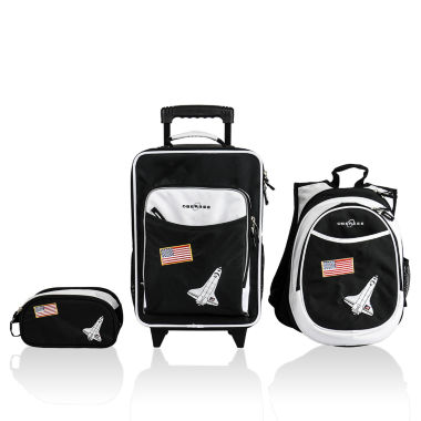 jcpenney.com | Obersee® Little Kids 3-pc. Space Luggage, Backpack & Toiletry Bag Set