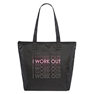 jcpenney.com | City Streets® Work It Out Nylon Tote