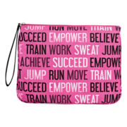 City Streets® Work It Out Nylon Pouch Wristlet