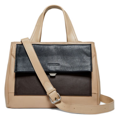 jcpenney.com | Perlina Audrey Leather Colorblock Mini Tote