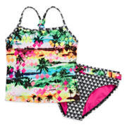 Breaking Waves Oahu Two-Piece Tankini – Girls 4-16