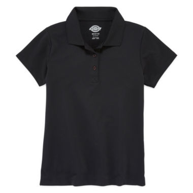 jcpenney.com | Dickies® Short-Sleeve Performance Polo Shirt - Girls 7-16