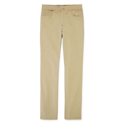 Dickies® 5-Pocket Skinny Stretch Twill Pants - Girls 7-16