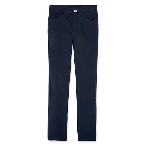 Dickies® Skinny-Fit Straight-Leg Stretch Slim Pants - Girls 7-16