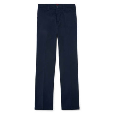 jcpenney.com | Dickies® Flat-Front Twill Pants - Girls 7-16