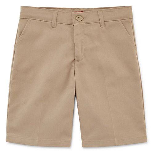 Dickies© Slim-Fit Flat-Front Shorts - Preschool Girls 4-6x